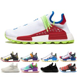 Argentina Human Race Solar Pack zapatilla de deporte Homecoming Core holi Afro Hu trail tinta nobel Pale nude Mens Womens Sports Running Shoes talla 36-45 cheap nude packing Suministro