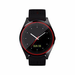 спортивные часы Скидка Для Android IOS Smart Bluetooth Watch V9 DZ09 с камерой Smartwatch Мужчины Женщины шагомер здоровье спортивные часы час Smartwatch