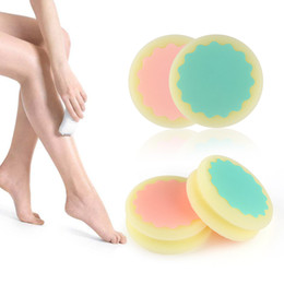Wholesale Manual Tools - Painless Smooth Skin Leg Arm Face Hair Removal Remover Exfoliator Depilation Sponge Skin Beauty Care Tools