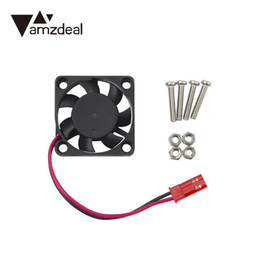 Wholesale Raspberry Cooler - amzdeal Mini 5V 0.2A CPU Cooling Fan For Raspberry Pi 2 3 Model Orange Pi for Banana