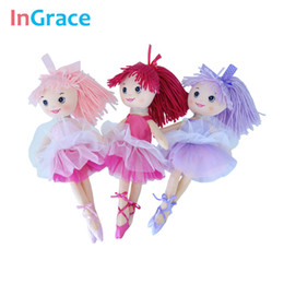 2020 cadeaux pour des ballerines InGrace fantasy yarn skirt ballerina dolls for girls fashion girls toys unique gifts 30CM sweet dream dancing doll home decorat cadeaux pour des ballerines pas cher