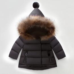длинные куртки девушки новая модель Скидка Девочки зимние куртки детский меховой пуховик с капюшоном куртка пальто дети девочки толстые теплые пиджаки зимний комбинезон одежда пуховики