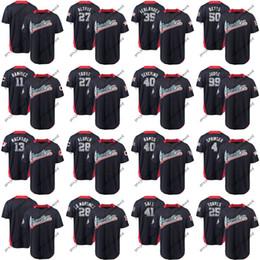 Maillot ramirez online-Mens Liga Americana Jersey Gleyber Torres George Springer José Ramírez Mike Trucha Justin Verlander Aaron Judge 2018 All-Star Game Jerseys
