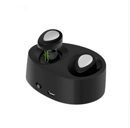 K2 online-K2 TWS mini auricular bluetooth para auriculares Auriculares gemelos 1 pieza / muestra auriculares inalámbricos Estéreo en el oído Con conector de carga libre de DHL