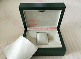 Envío gratis marca verde reloj original caja papeles tarjeta monedero cajas de regalo bolso 185 mm * 134 mm * 84 mm 0.7 kg para 116610 116660 116710 relojes desde fabricantes