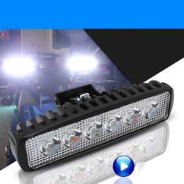 Wholesale Led Light Car Modified - Electric Car Motorcycle Modified Headlamp Lighting 12V-80V 6-lamp LED External Spotlights Accessories