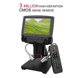 2019 suportes de solda Profissional 5 Polegada Tela Microscópio Digital Stand Microscópio HDMI para Ferramentas de Solda Reparação Do Telefone Móvel desconto suportes de solda