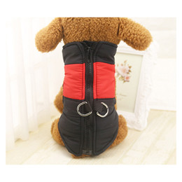 Wholesale Classic Lighting Products - Pet Products Large Dog Clothes Winter Keep Warm Vest PP Cotton Filling Waterproof Nylon Cloth Light Easy To Clean
