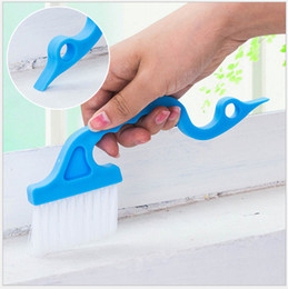 Wholesale Groove Cleaner - Swan shape hand-held trench doors and windows gap brush kitchen and toilet groove cleaning brushes air conditioning louver keyboard brush