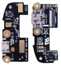 Caricabatterie asus zenfone online-Cavo Flex caricatore USB TESTED per ASUS Zenfone 2 ZE550ML ZE551ML Caricatore USB per ASUS Zenfone 2 con microfono Microfono