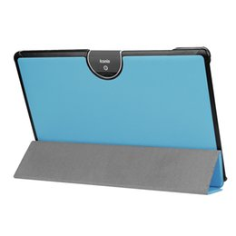 Wholesale A3 Leather - 100pcs Flip Book Cover PU Leather Case for Acer Iconia Tab 10 A3-A50 One 10 A3-A50 Ultra Slim Protective Stand Case + Stylus Pen