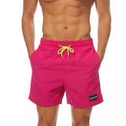 Mens Short Pants Sommer Herren Bademode New Fashion Brand Style Herren Strand Shorts Schnell trocknend Hosen Sex Male Short Pants Board Casual Pant von Fabrikanten