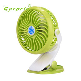 Wholesale Mini Usb Desk Fans - top quality New Battery Or USB Operated Clip Fan Mini Desk Fan Portable Hand Held Powered GN 17nov29 Dropshipping