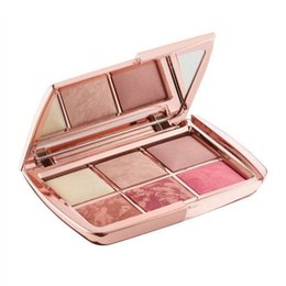 stock makeup 2018 - IN STOCK !!! New Makeup Hourglass 6 color face blush palette highlighter contour blush cosmetics palette Free Shipping