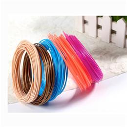 20 matériaux de filament d'imprimante de filament PLA 1.75mm des couleurs 3D 3D pour l'imprimante 3D du stylo d'impression 3D ? partir de fabricateur
