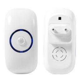 3.6W LED Cuerpo detección de movimiento brillante noche iluminación Auto indución humana Sensor lámpara luces EE.UU. Reino Unido UE enchufe inteligente luz suave activada desde fabricantes