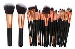 MAANGE Marca Profesional 22 unids Cosméticos Pinceles de Maquillaje Set Blusher Eyeshadow Powder Fundación Ceja Labios Maquillaje Pincel kit desde fabricantes