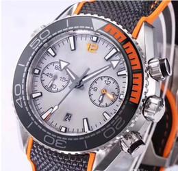Clásico reloj súper azul verde luz nocturna Chronograph VK Relojes de cuarzo Hombres Marca de lujo Reloj profesional 007 Relojes desde fabricantes