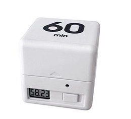 Wholesale Free Management - Miracle Cube Timers 5 15 30 60 Minutes Timers for Time Management Kitchen Timer Kids Timer Workout Timer 3 Colors DHL Free Shipping