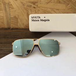 óculos mykita Desconto óculos de marca sol óculos de sol para óculos de sol dos homens de marca para mulheres designer de estilo de óculos de sol de luxo Mykita 03 estilo de moldura redonda lente UV400