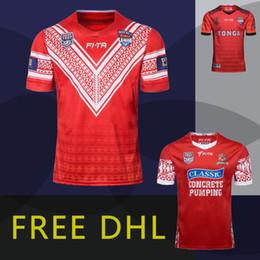 Taza de prueba online-6+ PCS Free DHL 2018 Tonga Rugby nacional Jerseys 2019 rugby copa de la liga mundial Pacific Test Classic 2017 Campeones del Mundo Rugby League camisetas