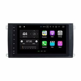 "Wholesale Cayenne Black - 2GB RAM 8"" Android 7.1 Car DVD Player for Porsche Cayenne 2003 2004 2005 2006 2007 2008 2009 2010 GPS Radio BT WIFI Mirror-link"