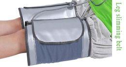 Wholesale Cellulite Belt - Hot Sale Electric Slimming Leg Belt Heating Sauna Foot Massager Belts Wraps Anti Cellulite Fat Burning Massager