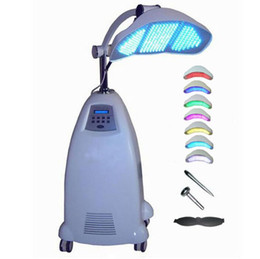 Wholesale Infrared Light Skin - op quality Floor Standing Professional led pdt bio-light therapy machine Red light +Blue light + Infrared light therapy