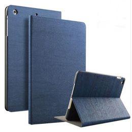 stand bois pour ipad Promotion Portefeuille magnétique Stand Flip Case Cuir PU Cuir de grain Couverture Pour iPad mini 1 2 3 4 Pro 9.7 10.5 Pouce Nouvel iPad Sommeil Réveillez-vous Smart Cases
