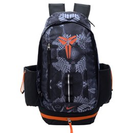 Wholesale Serpentine Shoes - Basketball Backpacks New KOBE BRYANT Packs Backpack Man's Bags Large Capacity Waterproof Training Travel Bags Shoes Bags Free Shipping