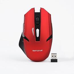 Pacote de varejo de mouse sem fio on-line-Original iMice E-1700 Sem Fio Gaming Mouse Óptico USB Computador Mouse Com Receptor 2.4G 6 Botões Ratos Pacote de Varejo