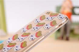 caso macio de animais iphone 4s Desconto Yunrt 3d animais dos desenhos animados padrão de frutas fundas capa case para iphone 7 6 6 s plus 5 5S 5SE 4 4S TPU Silicon Macio Manga Shell