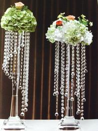 Guirnalda recortar online-Fiesta de bodas de guirnalda de cuentas de acrílico de cristal de Halloween 30m, decoración de iluminación de cortina de recorte de araña, cuentas de octágono de acrílico bricolaje