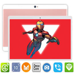 Google play бесплатно android онлайн-Global ROM DHL Free Google Play Tablet Pc 10 inch 4G LTE/WiFi/Bluetooth/IPS/GPS/FM Deca Core Touch Screen Android 7.0 PC 8.0MP