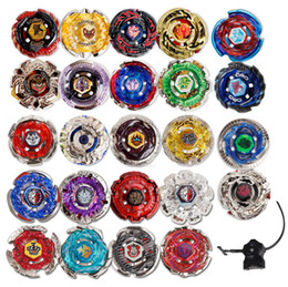 Wholesale Plastic Spinning Tops - 24 Styles Beyblade Booster Alter Spinning Gyro Launcher fidget spinner Starter String Booster Battling Top Beyblades Beyblade Toy GGA242