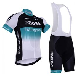BORA team Cycling Short Sleeves jersey (bib) shorts sets Ropa Ciclismo  quick dry team bicycling wear mens summer bicycle Maillot Suit 101513 3b4b9db1f