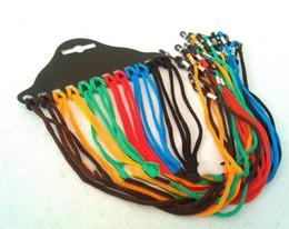 Canada 12pcs lunettes colorées cordes en nylon corde lunettes de lecture en verre cou lanière sangle porte-lunettes corde cheap colorful nylon cord Offre