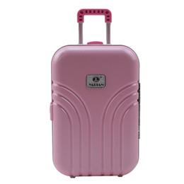 Deutschland Baby Born Dolls Reisekoffer Pink Silver Suitcase Für 18 Zoll American Girl Doll Zubehör Die Kinder Beste Geschenk Versorgung