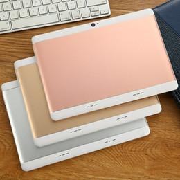 "Tablet mtk6572 online-2018 MTK6572 MTK6582 alta qualità da 10 pollici touch screen capacitivo IPS dual sim 3G tablet pc pc 10 ""android 6.0 Octa Core 4GB 64GB G-10PB"
