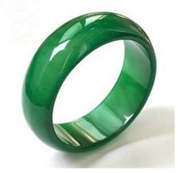 Natural A carga ágata calcedônia anéis alargando modelos masculinos e femininos anel de moda jade puxar anel de dedo de