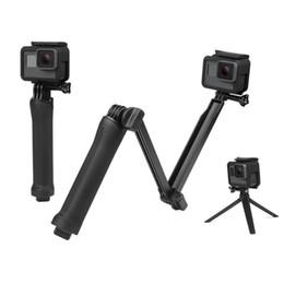 Trípode impermeable online-Monopod impermeable Selfie Stick para Gopro Hero 5 4 3 sesión ek7000 Xiaomi Yi 4K cámara Trípode Go pro Accesorio