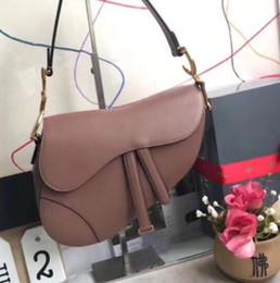 La dernière mode des femmes d'origine qualité luxe vintage en cuir selle sac lettre sac à bandoulière multicolore choix livraison gratuite ? partir de fabricateur