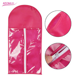 Argentina Rose Hair Extension Packing Bag Carrier Almacenamiento de pelucas Soportes Extensiones de cabello Bolsa para llevar y embalaje de pelo Suministro