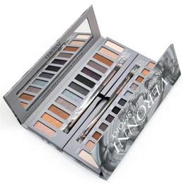 Wholesale Original Makeup - In Stock Original Brand VERONNI Cosmetics Eyes Professional Make up Palette Eyeshadow 12 Colors Glitter Powder Eyeshadow Palettes Makeup