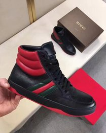botas italianas hombres botas Rebajas 2018 Top Designer Men Fashion Boots Primavera y Otoño Luxury Brand Mens Shoes Italian Designer Style Casual Boots Talla 38-44