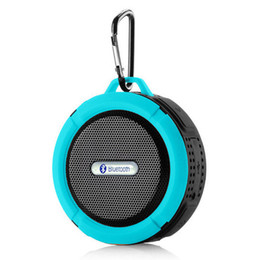 Wholesale Seal Driver - Bluetooth 3.0 Wireless Speakers Waterproof Shower C6 Speaker with 5W Strong Driver Long Battery Life and Mic and Removable Suction Cup