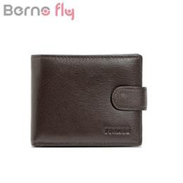 Защитный кошелек онлайн-Berno  Brand RFID Wallet Genuine Leather Men Wallets with Coin Pocket RFID Protection Man Purses Travel money clip