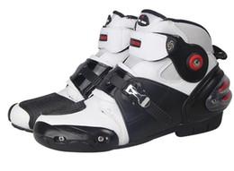 Los más nuevos RidingTribe zapatos de motociclismo, botas cortas, anti caída zapatos para correr, botas, carreras de verano de primavera Colisión evolvente desde fabricantes