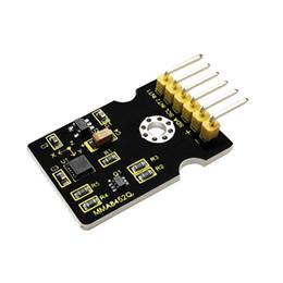 Módulo de eje online-Keyestudio MMA8452Q Módulo de sensor de aceleración de tres ejes para Arduino con opciones flexibles programables por el usuario y dos pines de interrupción con