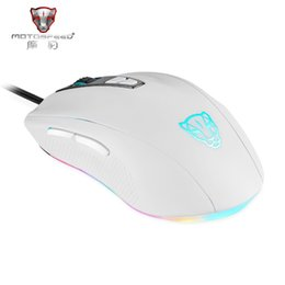 Wholesale Motospeed Mouse - Official Sale Motospeed V60 5000 DPI Wired Gaming Mouse 7 Keys Rato com fio Computer Peripherals